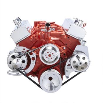 Chevy Small Block Engine Accessories | Serpentine Conversion