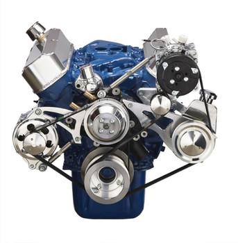 Ford V-Belt Pulley & Bracket: Power Steering, A/C & Alternator