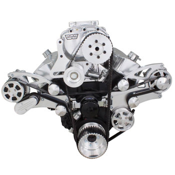 Supercharged Serpentine Conversion Kit for Big Block Chevy 396, 427