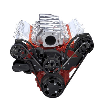 Incredible Black Chevy Ls Engine Serpentine Conversion Kit Alternator Only Wiring Digital Resources Almabapapkbiperorg