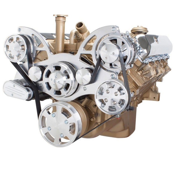 Serpentine System for Oldsmobile 350-455 - Power Steering & Alternator