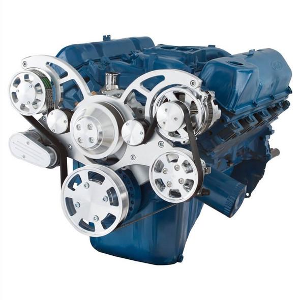 Serpentine System for 351C, 351M & 400 - Power Steering & Alternator