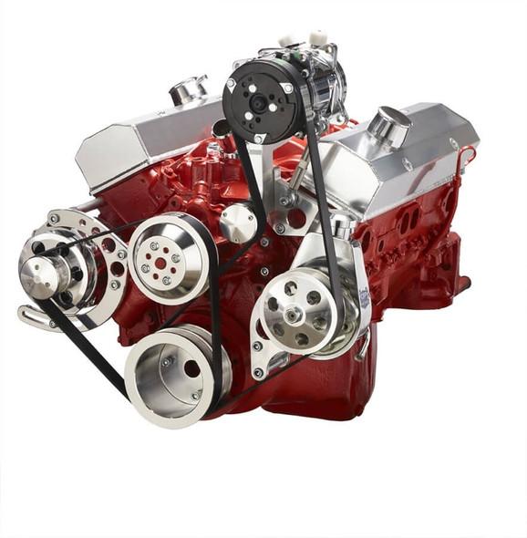 Chevy Small Block Serpentine Conversion - AC, Alternator & Power Steering