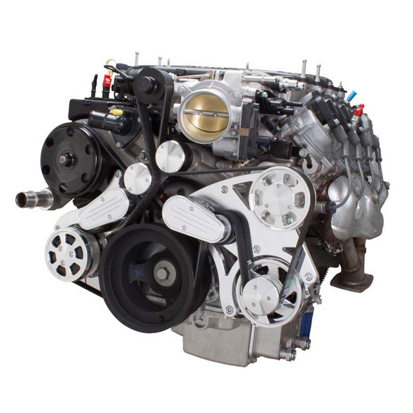 Serpentine System for LT4 Supercharged Generation V - AC & Alternator