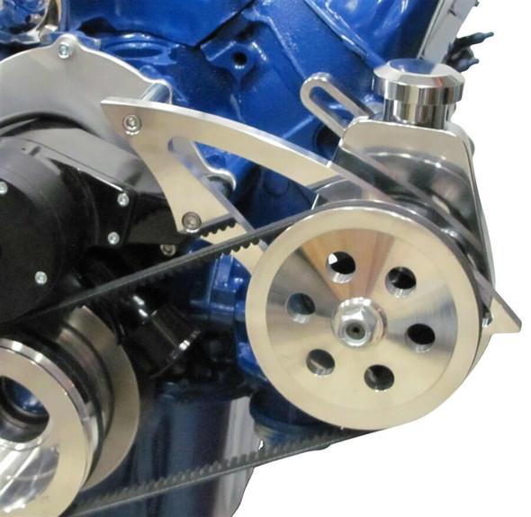 Ford 351C Power Steering Bracket - Electric Water Pump