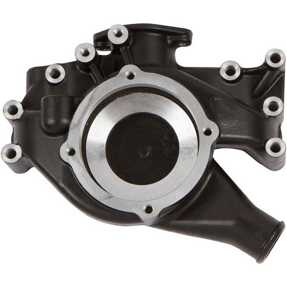 Stealth Black Big Block Chrysler Water Pump Housing