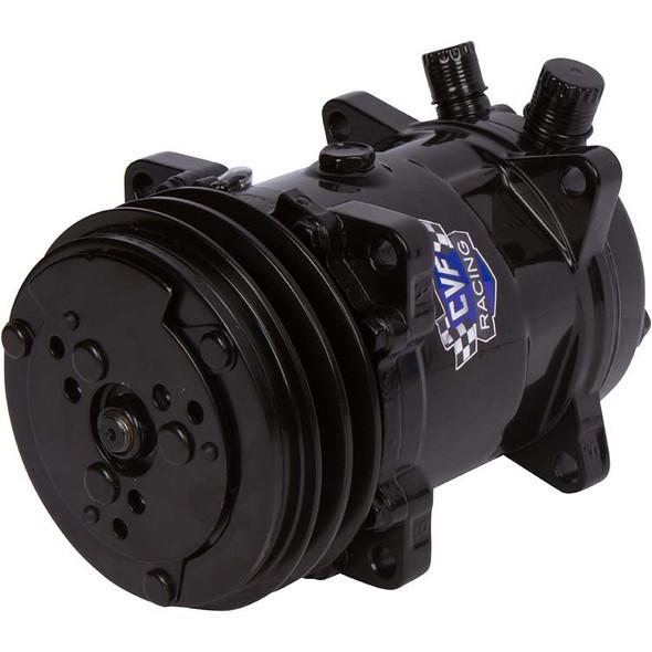 Stealth Black Sanden Style AC Compressor