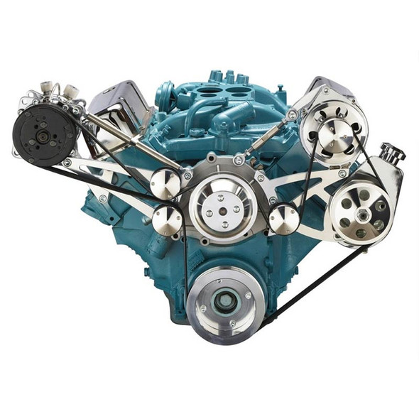 Pontiac Serpentine Conversion - AC & Power Steering