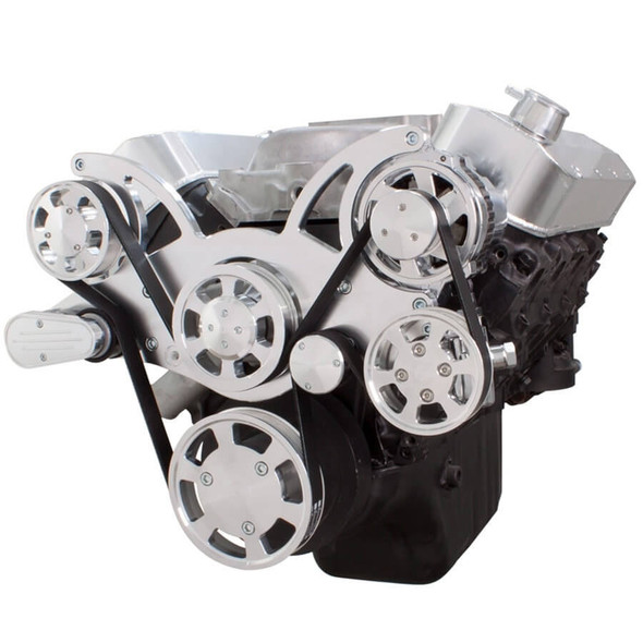 Serpentine System for 396, 427 & 454 - Power Steering & Alternator