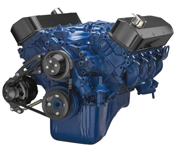 Black Ford 460 Serpentine System - Alternator Only