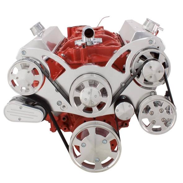 Serpentine System for SBC 283-350-400 - Power Steering & Alternator