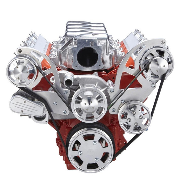 Chevy LS Serpentine Kit - Power Steering & Alternator