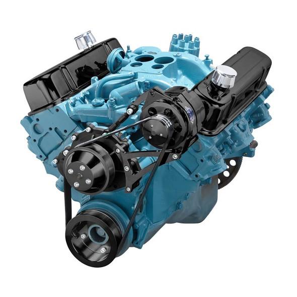 Black Pontiac Serpentine Conversion - Alternator Only