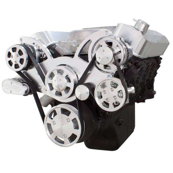 Serpentine System for Big Block Chevy - AC, Power Steering & Alternator