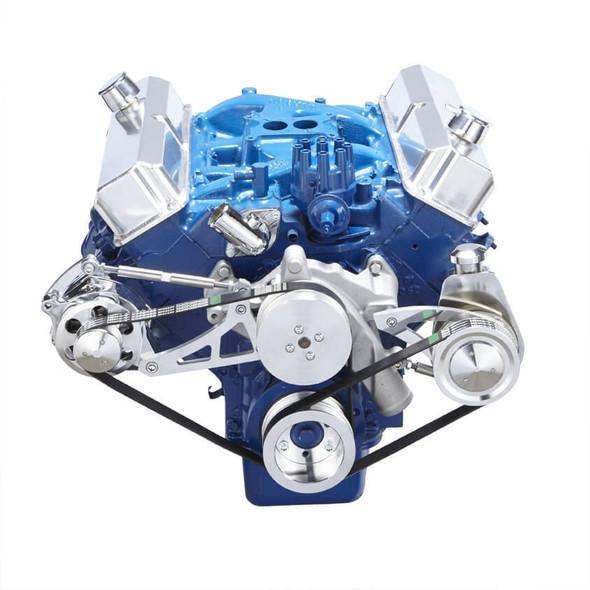 Ford 390 Serpentine System - Power Steering & Alternator
