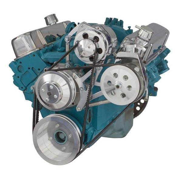 Pontiac V-Belt System - Power Steering