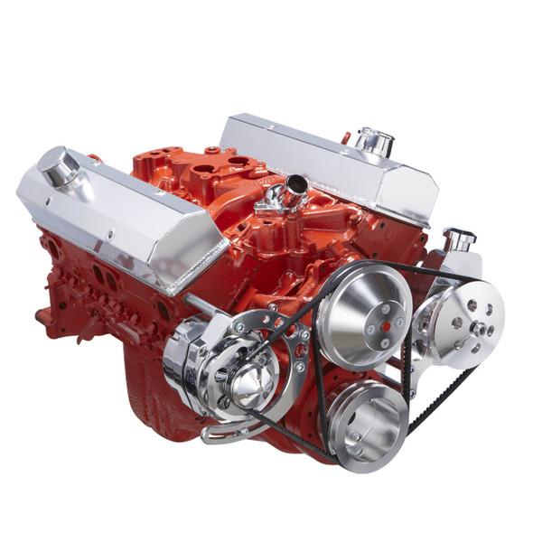 Chevy Small Block V-Belt System - Alternator & Power Steering