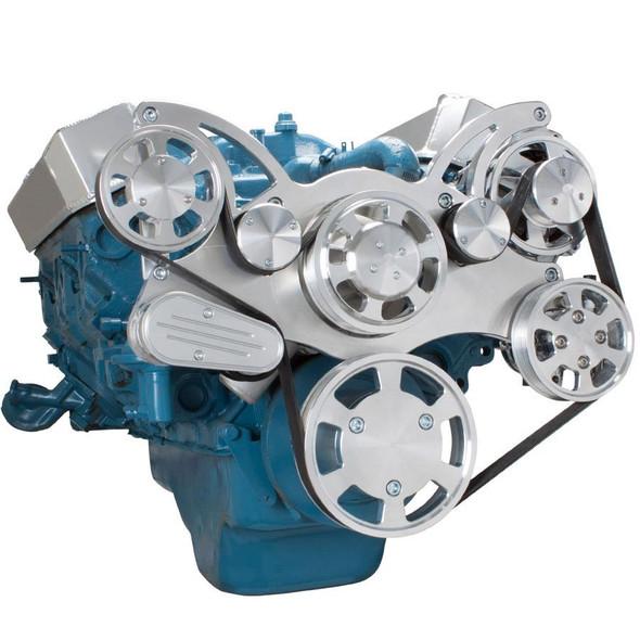 Serpentine System for Small Block Mopar - Power Steering
