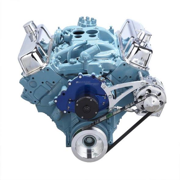Pontiac Serpentine Conversion - Alternator Only, Electric Water Pump