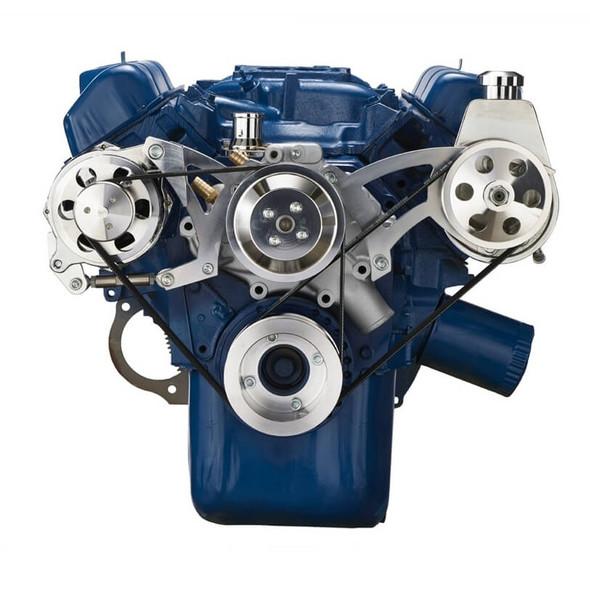 Ford 351C, 351M & 400 Serpentine System - Power Steering & Alternator