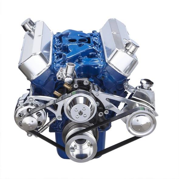 Ford 289-302-351W Serpentine Conversion Kit - Alternator & Power Steering