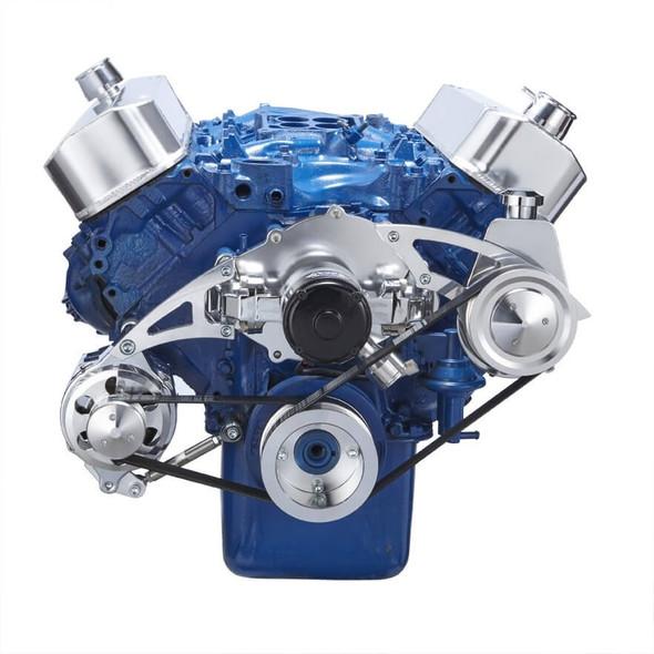 Ford 460 Serpentine System - Power Steering & Alternator - Electric Water Pump