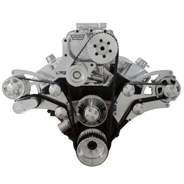 Serpentine System for 396, 427 & 454 Supercharger - Alternator Only
