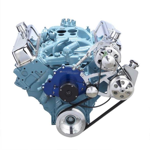 Pontiac Serpentine Conversion - Power Steering, Electric Water Pump