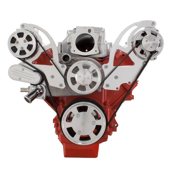 Chevy LS Engine Serpentine Kit - AC & Alternator