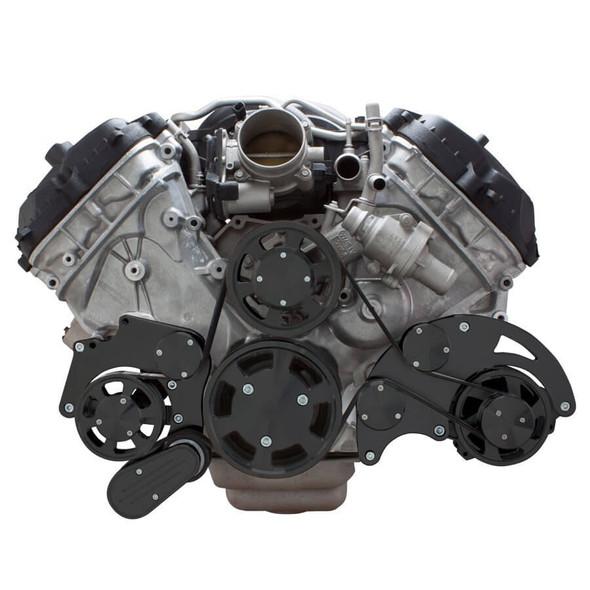 Stealth Black Serpentine System for Ford Coyote 5.0 - Alternator