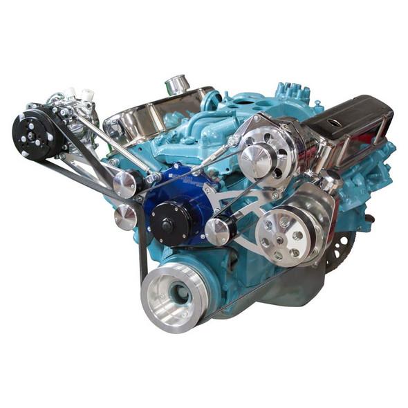 Pontiac Serpentine Conversion - AC, Power Steering & Alternator - Electric Water Pump