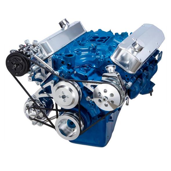 Ford 429-460 Pulley System - AC, Alternator & Power Steering