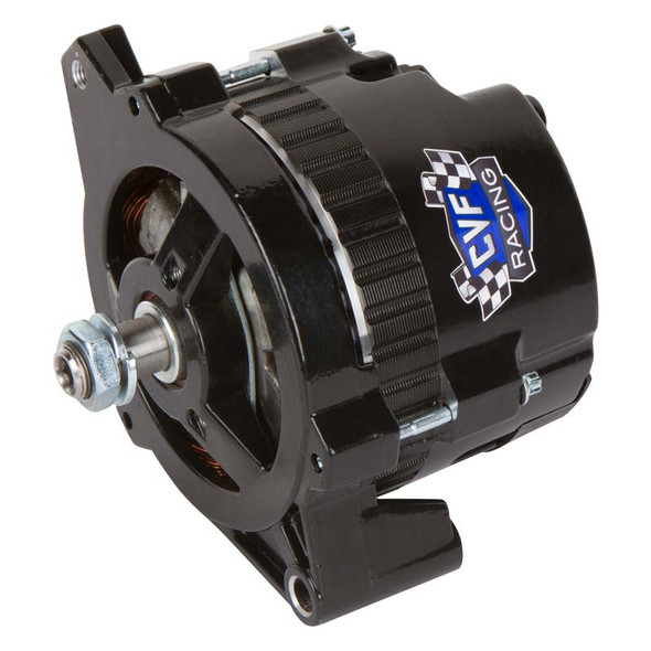 Stealth Black GM CS130 1 Wire 140 Amp Alternator
