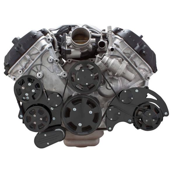 Ford 5.0L & 5.8L Serpentine Conversion Kit - Alternator, Power Steering & A/C