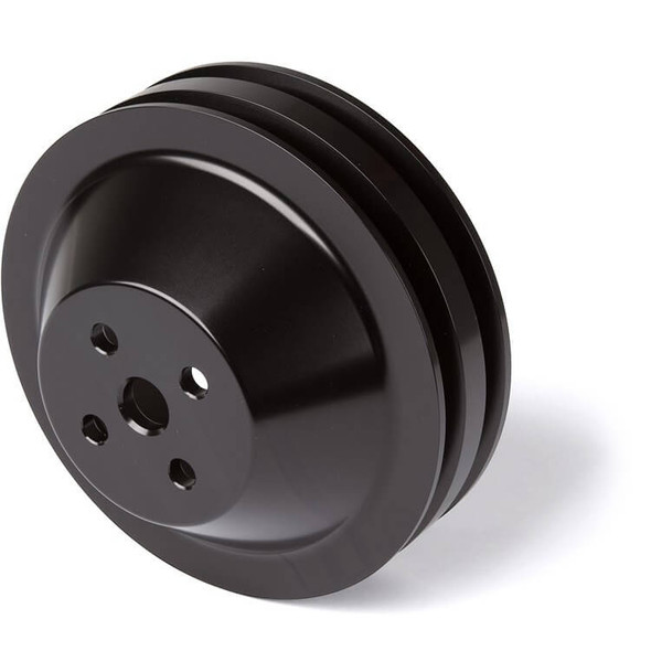 Stealth Black Ford Water Pump Pulley 2V 302, 351W, 351M & 400 (High Flow)