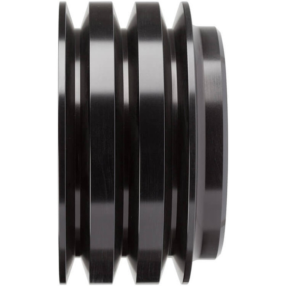 Stealth Black Ford Crank Pulley 302, 351W, 351M & 400 3V-R