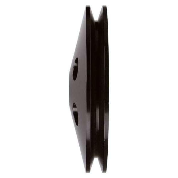 Stealth Black Small Block Chevy Power Steering Pulley