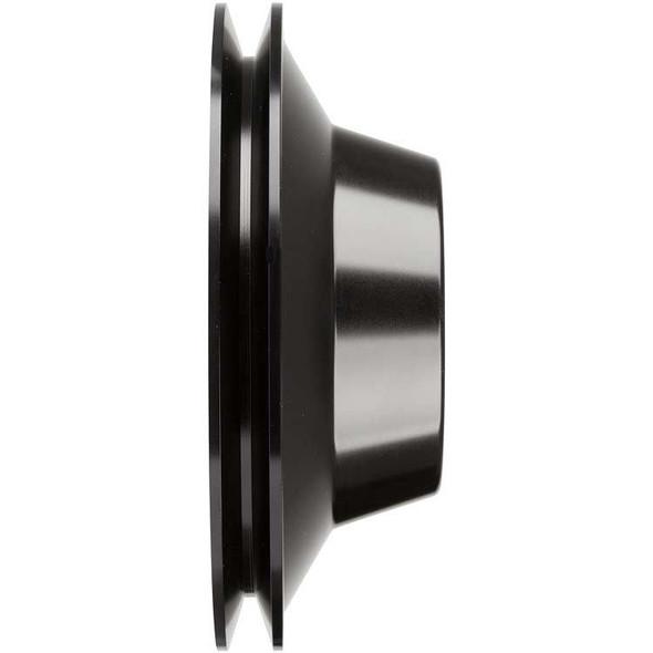 Stealth Black Big Block Chevy Water Pump Pulley 1 Groove