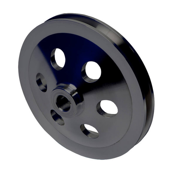 Stealth Black Saginaw Power Steering Pulley