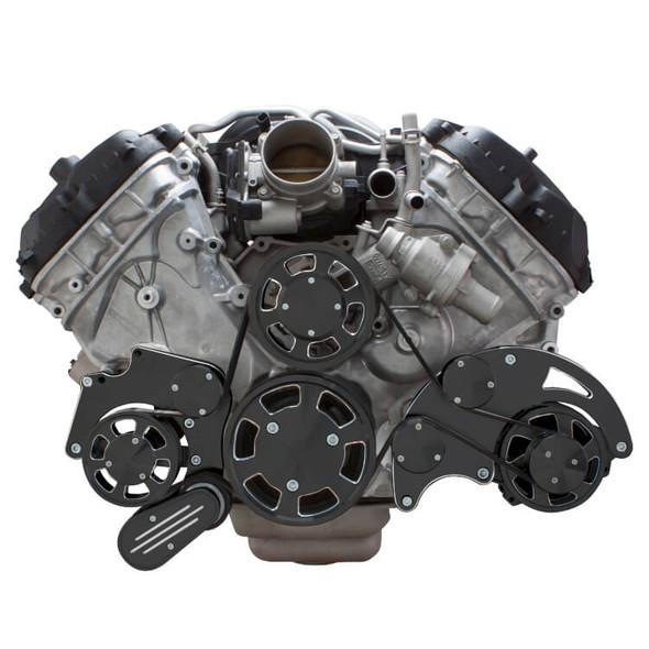 Black Diamond Serpentine System for Ford Coyote 5.0 - Alternator - All Inclusive