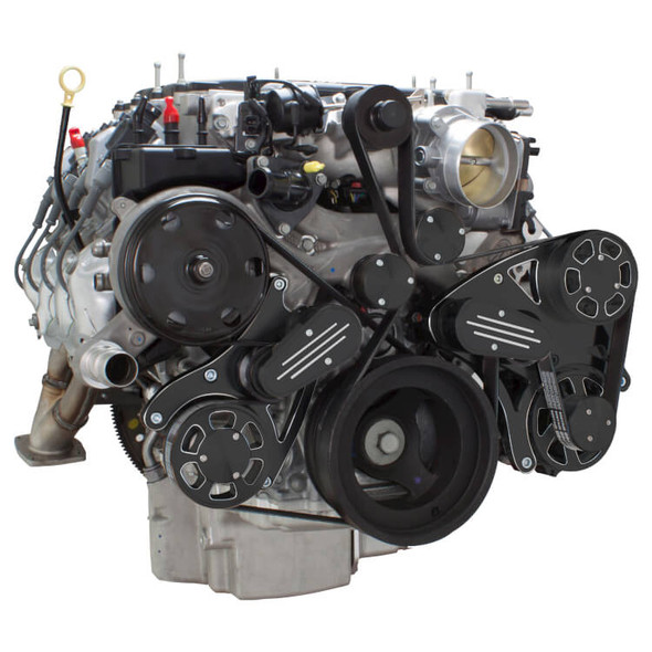 Black Diamond Serpentine System for LT4 Supercharged Generation V - Alternator Only - All Inclusive