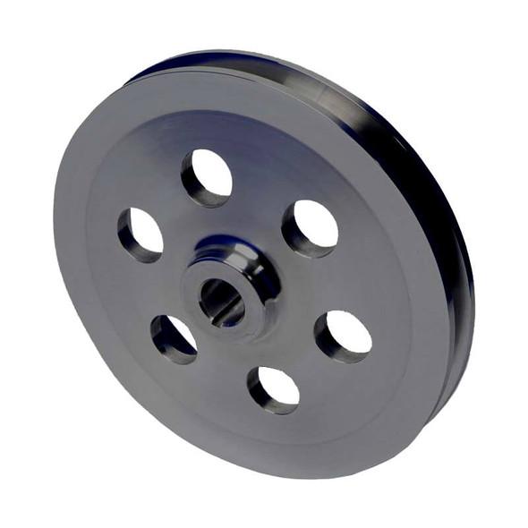 Stealth Black Saginaw Power Steering Pulley - Keyed