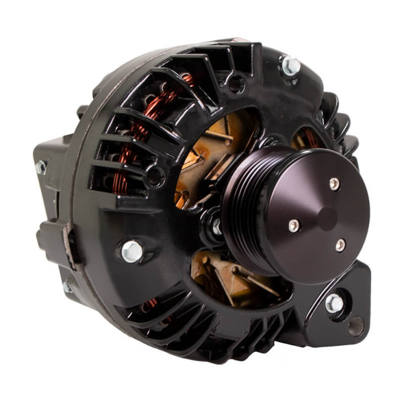 Black Chrysler 1 Wire Alternator