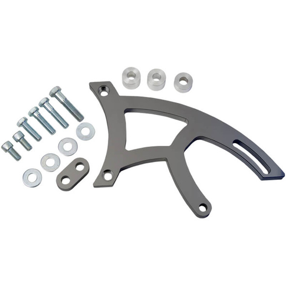 Stealth Black Ford 351C Power Steering Bracket
