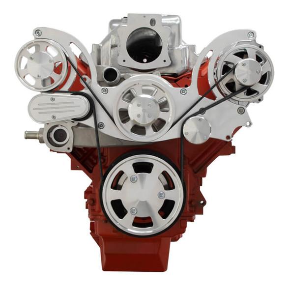 Chevy LS Engine Serpentine Kit - Alternator Only - Mid-Mount