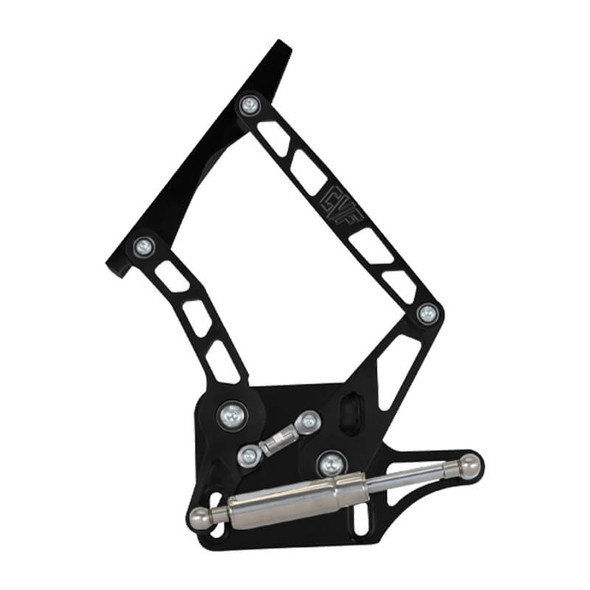Stealth Black 64-66 Mustang Hood Hinges