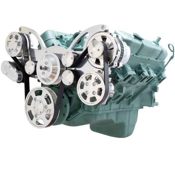 Serpentine System for Buick 455 - Power Steering & Alternator - All Inclusive