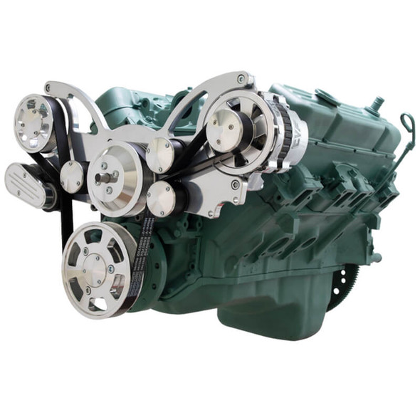 Serpentine System for Buick 455 - Alternator Only - All Inclusive