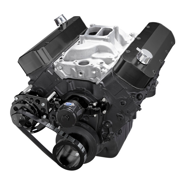 Black Chevy Big Block Gen. VI Serpentine Conversion Kit - Alternator Only, Electric Water Pump
