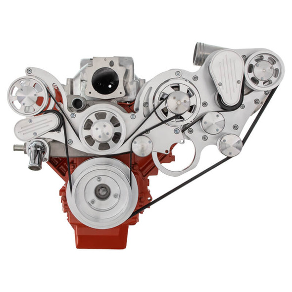 Chevy LS Engine Mid Mount Serpentine Kit - ProCharger - Alternator Only
